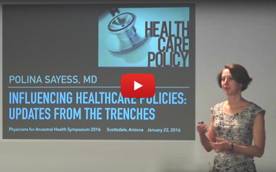 Influencing Healthcare Policies: Updates from the Trenches- Polina Sayess, MD