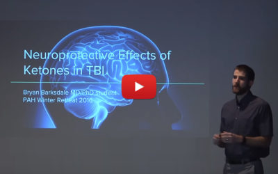 Ketogenic Diets and Ketone Bodies in Treatment of Neurotrauma- Bryan Barksdale MD/PHD Candidate