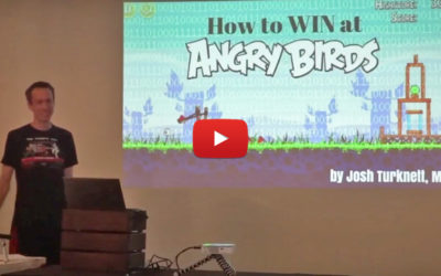 """How to Win at Angry Birds: Moving Towards a More Efficient Practice Model"" Josh Turknett, MD"