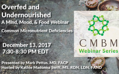 Overfed and Undernourished- a free webinar by Mark Pettus, MD, FACP!